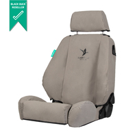 Black Duck Canvas Seat Covers suits FJ Cruiser (With Seat Side Airbags)