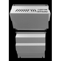 Bash Plates to suit Mitsubishi Pajero Sport - 2pc Front & Sump