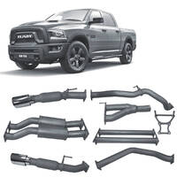 Cat Back Exhaust to suit RAM 1500 5.7L V8 (12/2018 - on) Redback 4x4 Extreme Duty