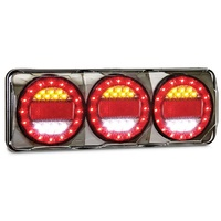 Maxilamp 3 Stop / Tail / Indicator / Reverse Combination Ute Trailer Lights