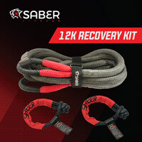 Saber Offroad 12K Kinetic Recovery Kit