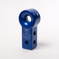 7075 Alloy Recovery Hitch - Prismatic Blue