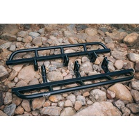 Fatboy Rocksliders to suit Toyota Hilux N70 Dual Cab