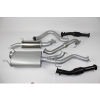 Exhaust to suit Toyota Landcruiser UZJ100 incl Extractors