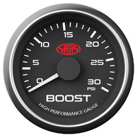 Boost Gauge Black Muscle Series